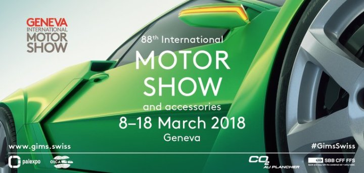 Geneva International Motor Show: flat shoes are allowed
