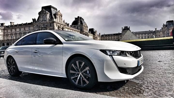Heartbreaker in Paris: the new Peugeot 508 GT Line