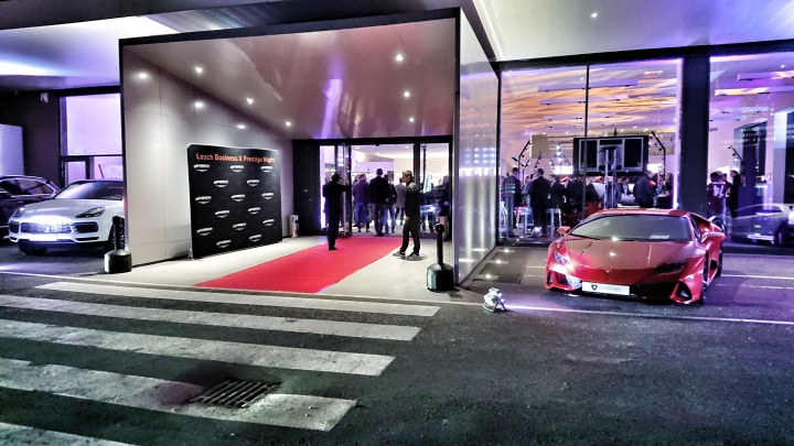 Skoda Vision iV/Audi AI:CON/ VW ID.3 at Losch Business&Prestige Night