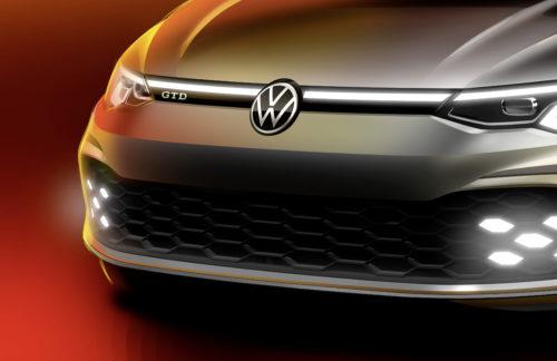 Première mondiale au Salon de l'Automobile de Genève : Premier aperçu de la nouvelle GolfGTD