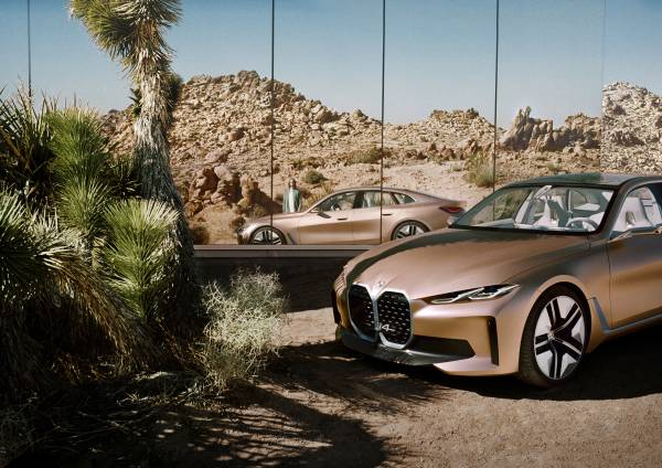 BMW Concept i4. STAY AHEAD IN STYLE.